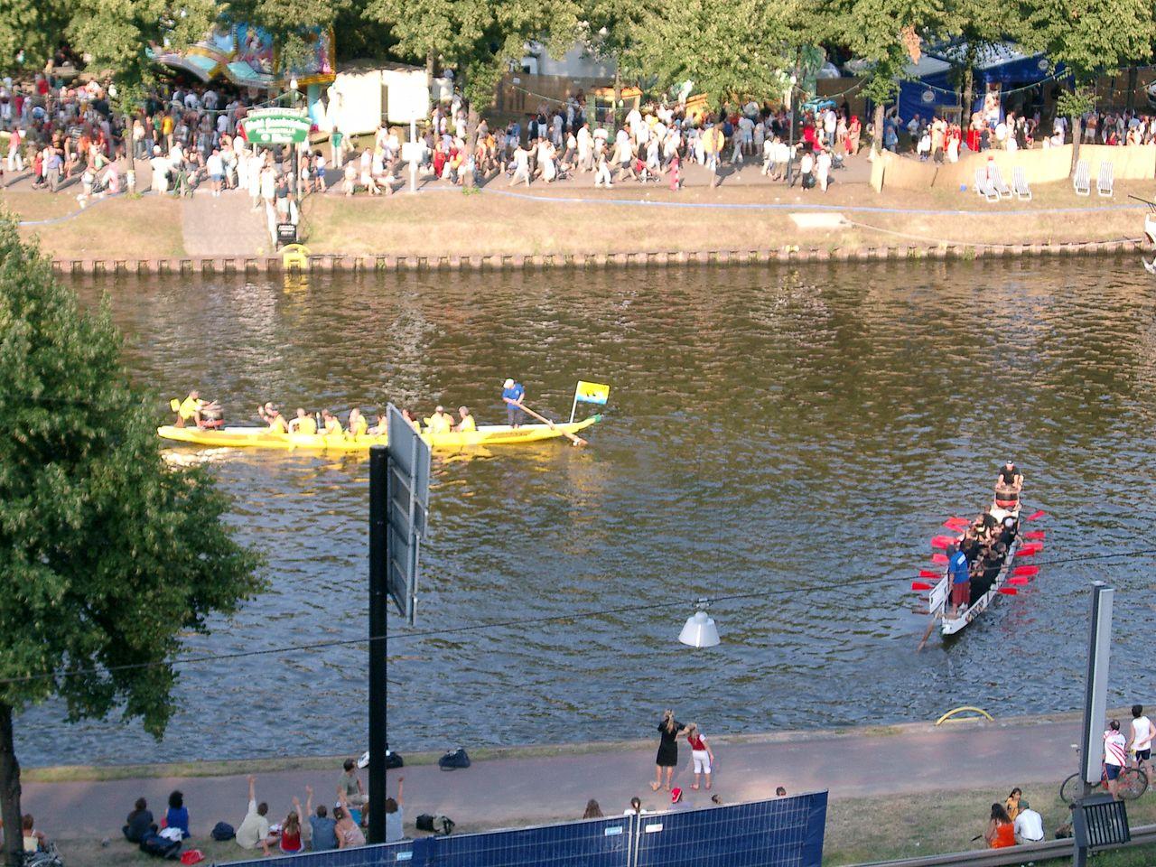 Drachenbootsport das Gemeinschaftserlebnis